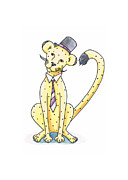 Christy Beckwith - Cheetah in a Top Hat