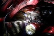 Red Street Rod Photos - Chevrolet Master Deluxe 1939 by Tom Mc Nemar