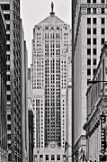 Chicago Landmark Prints - Chicago Board of Trade Print by Philip Sweeck