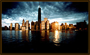 Photograph Art - Chicago Skyline 60s by Serge Seymour