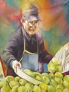 Alfred Ng - Chinese pear seller