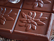 Gourmet Art - Chocolate Flower  by Rona Black