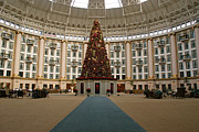 West Baden Springs Hotel Framed Prints - Christmas at West Baden Framed Print by Sandy Keeton