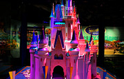 Walt Disney World Florida Art - Cinderellas Castle number one by David Lee Thompson