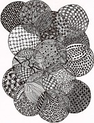 Circles Drawings Originals - Circles by Bharti Gupta