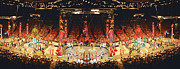 David  Zanzinger - Circus 3 Ring Tent Performers Panorama