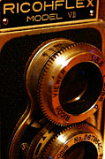 Wingsdomain Art and Photography - Classic Ricohflex Camera - 20130117