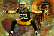 Jack Zulli - Clay Matthews Green Bay Packers