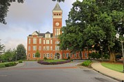 Clemson Art - Clemson University    Tillman Hall by Willie Harper