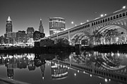 Patrick Friery - Cleveland at Dawn BW