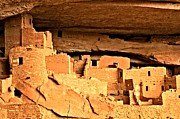 Mesa Verde Photos - Clif Palace Ancient Ruins by Adam Jewell