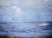 Judy Hall-Folde - Clouds at the Beach