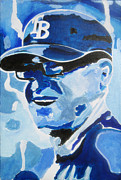 Lorinda Fore Art - Coach for the Rays by Lorinda Fore and Tony Lima