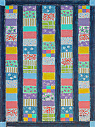 Barbara Griffin - Coin Quilt -  Painting - Multicolored...