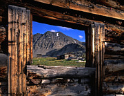 Tenmile Range Art - Colorado Ghost Town by Mike Norton