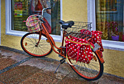 Reflection Art - Colorful Bike by Marcia Colelli