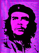 Che Guevara Prints - Colors of Che No.1 Print by Bobbi Freelance