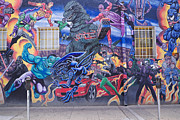 Comic. Marvel Photos - Comics Mural Albuquerque by Mary Lee Dereske