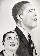 Washington Dc Drawings - Commander In Chief by Timothy Gaddy