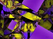 Complementary Color Prints - Complementary Colors in Abstract Art Print by Mario  Perez