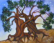 Tree Roots Paintings - Complete by Cedar Lee