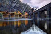 Harpers Ferry Photos - Converging Light by Edward Kreis