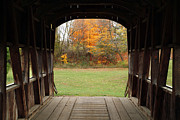 Jeff Holbrook - Covered Bridge in Fall