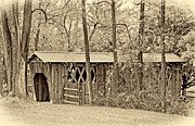 Steve Harrington - Covered Bridge sepia