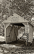 Steve Harrington - Cox Farm Bridge monochrome