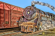 Diesel Locomotives Prints - Cpr 2929 Print by Susan Candelario
