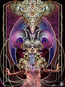 Dmt Prints - Crystal Goddess Print by Abhi Thati