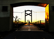 Photo Captures by Jeffery - Cumberland River Pedestrian Bridge With...