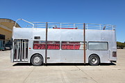 Buses Photos - Custom Artistic Double Decker Bus 5D25357 by Wingsdomain Art and Photography