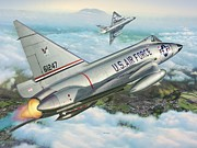Usaf Posters - Daggers of Defense Poster by Stu Shepherd