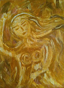 Dancing Girl Paintings - Dancing Girl by Catherine Lee Cunningham