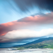 Dirk Ercken - dark clouds over Irish coast Dingle peninsula