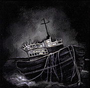 Haunted Paintings - Dark Voyage by Rouble Rust