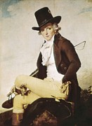 David; Jacques Louis (1748-1825) Metal Prints - David, Jacques-louis 1748-1825. Pierre Metal Print by Everett