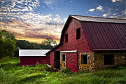 Debra and Dave Vanderlaan - Dawn on the Dairy Farm