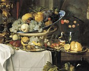 Heem Art - De Heem, Jan Davidsz 1606-1684. Fruits by Everett