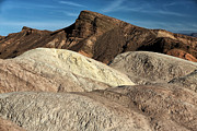 Southwest Landscape Metal Prints - Death Valley Shapes Metal Print by John Rizzuto