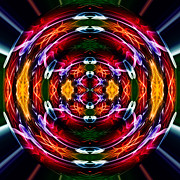 Trippy Framed Prints - Dna 5 Framed Print by Steve Purnell