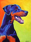 Doberman Paintings - Doberman - Miracle by Alicia VanNoy Call