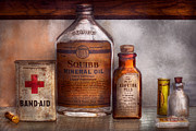Treatment Metal Prints - Doctor - Pharmacueticals  Metal Print by Mike Savad