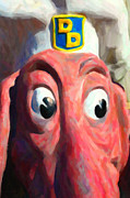 Wingsdomain Art and Photography - Doggie Diner Dog - Painterly - 5D20939