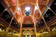 Synagogue Photos - Dohany Synagogue in Budapest by Madeline Ellis