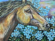 Paso Fino Stallion Prints - Dont Forget Me Print by Jonelle T McCoy