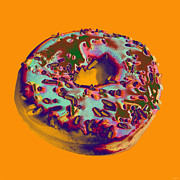 Jelly Donut Prints - Doughnut Print by Jean luc Comperat