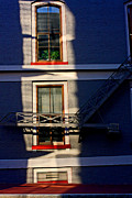 William Eggleston Framed Prints - Downtown Louisville Windows Highlighted By Setting Sun Framed Print by Chris Fender