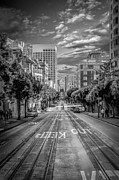 Financial Photo Posters - Downtown San Francisco II Poster by Erik Brede